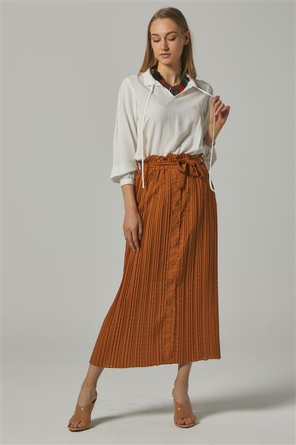 Skirt-Camel MS272-06