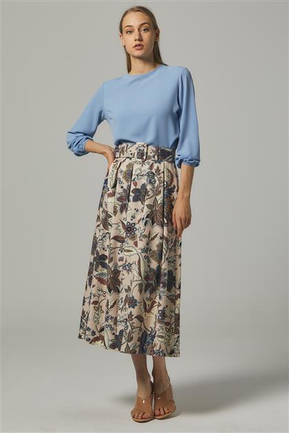 Skirt-Salmon MS111-100