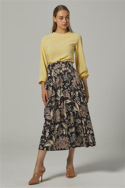 Skirt-Black MS111-12