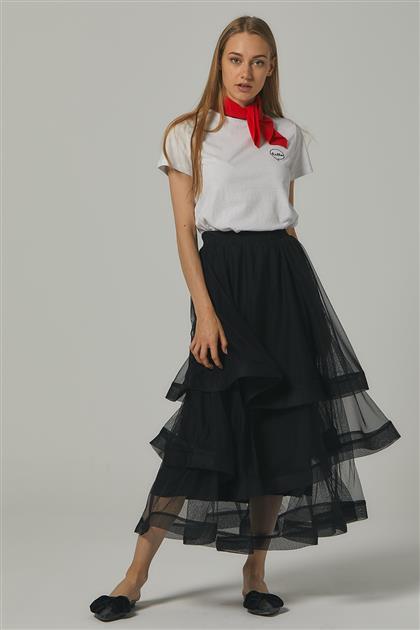 Skirt-Black MS146-12