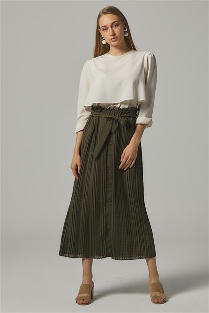 Skirt-Khaki MS272-21