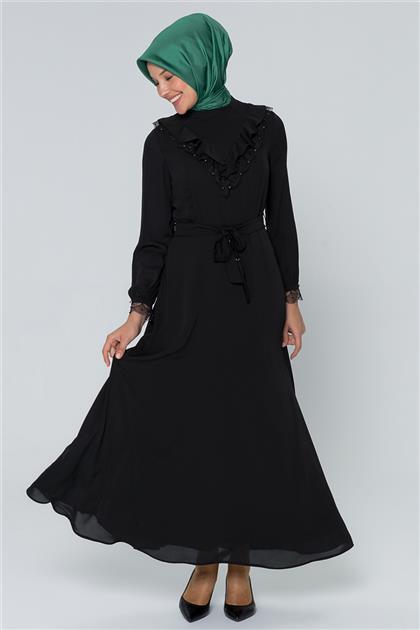 Armine Elbise Siyah 20Y901