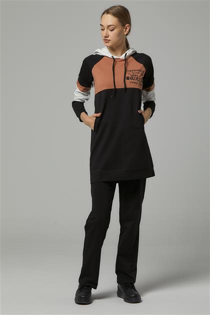 Eşofman Takım -Siyah MG8053-01