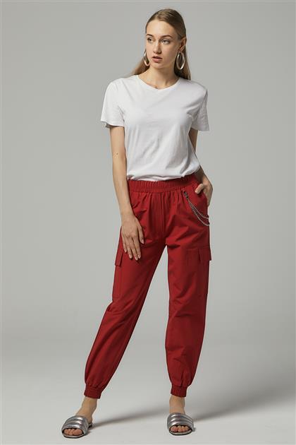 Pants-Red UZ0039-19