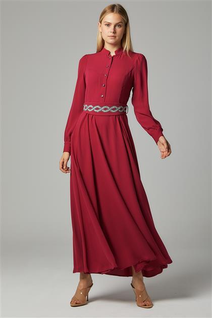 Elbise-Fuşya DO-B20-63030-04