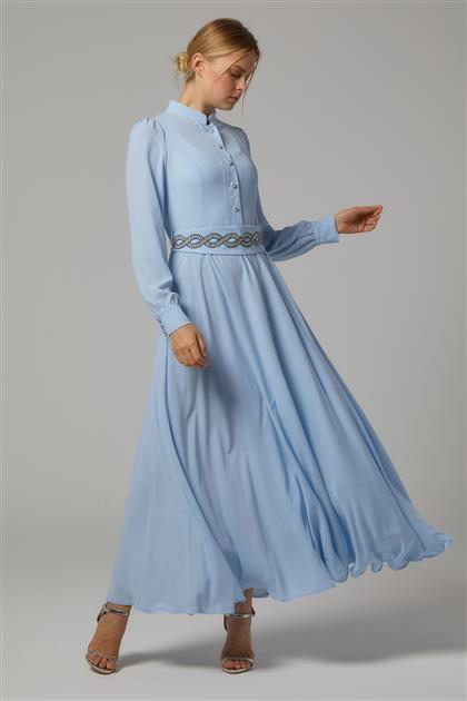 Elbise-Mavi DO-B20-63030-09