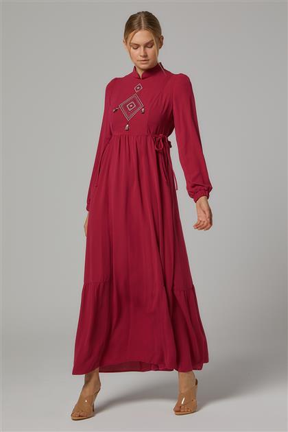 Elbise-Fuşya DO-B20-63016-04