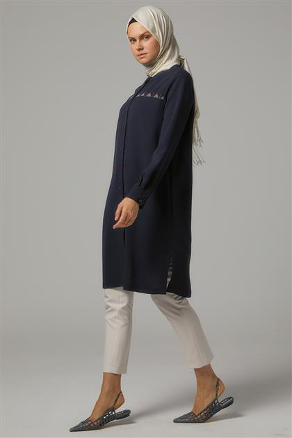 Tunic-Navy Blue DO-A9-61175-11