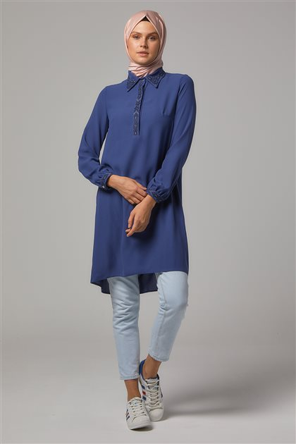 Tunic-İndigo DO-A9-61145-39