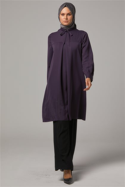 Tunic-Plum DO-A9-61127-29