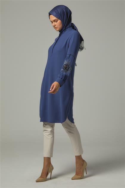 Tunic-İndigo DO-A9-61142-39