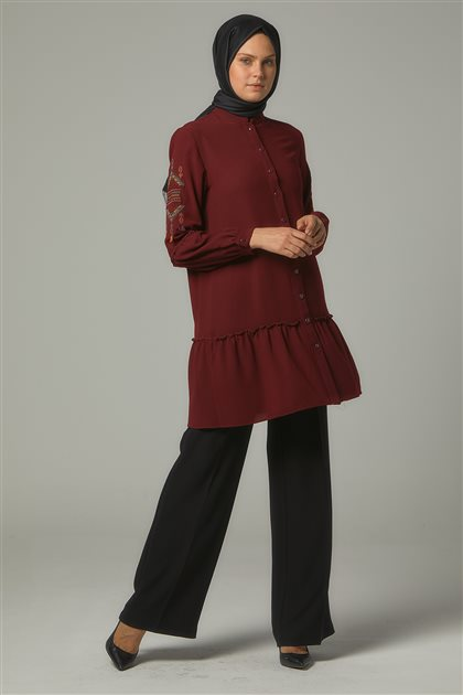 Tunic-Claret Red DO-A9-61015-26