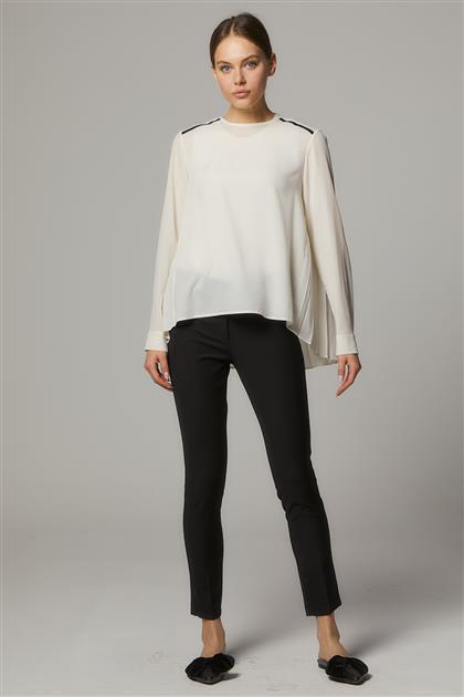 Beş Cep Likra Pantolon-Siyah SZ-383-01