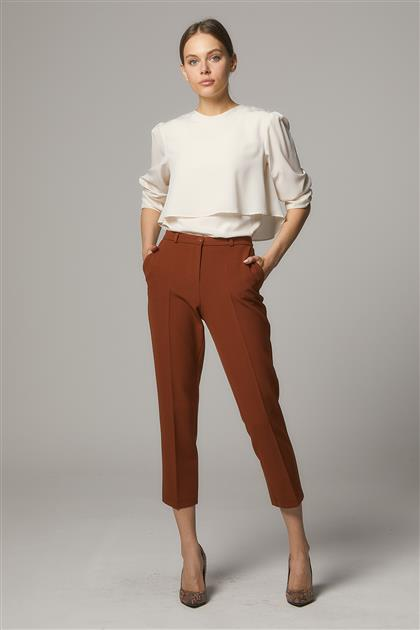 Pants-Dark Brown SZ-141-10