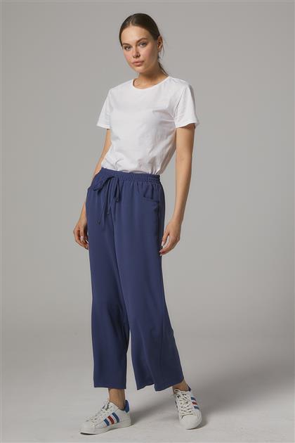 Oval Cep Kısa Pantolon Ceren-Lacivert SZ-5178-17