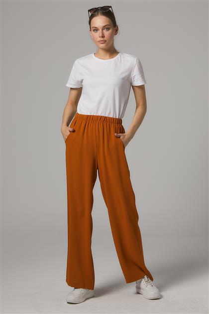 Derin Cepli Uzun Pantolon-Hardal SZ-5177-55