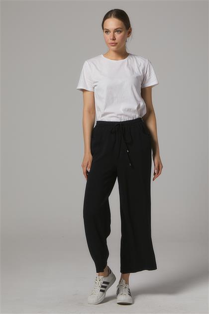 Oval Cep Kısa Pantolon Ceren-Siyah SZ-5178-01