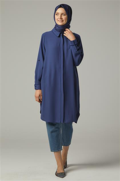 Tunic-İndigo DO-A9-61140-39