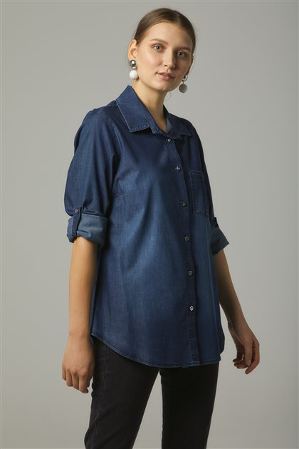 Shirt-Navy Blue 17