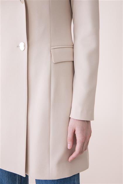Aksesuar Detaylı Blazer Ceket - Bej V19KCKT14010