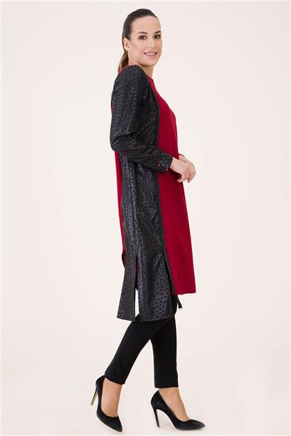 Tunik-Bordo V19KTNK45014-24