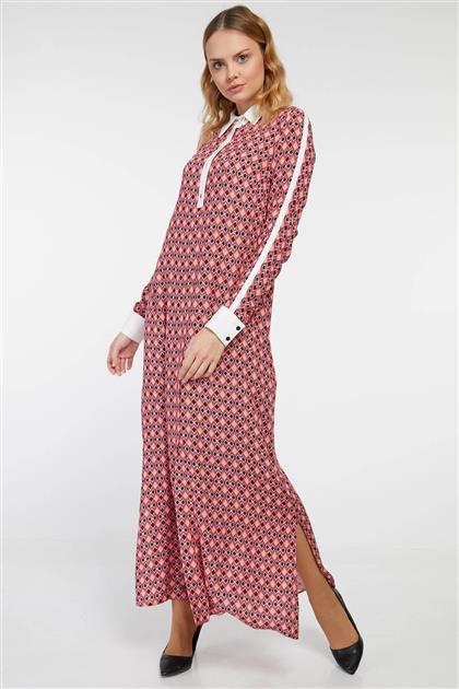 Dress - Red V19YELB17036