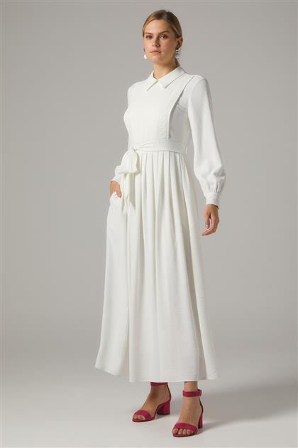 Dress-Ecru KA-B20-23003-35