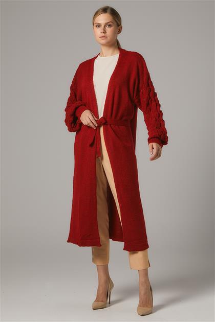 Cardigan-Red 2058-34