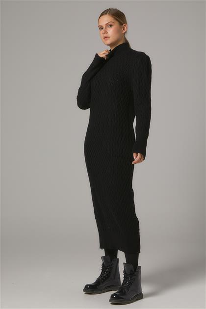 Tesettür Elbiseler-Siyah 2020-31-01