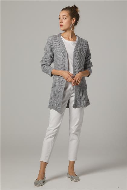 Cardigan-Gray 5050-E-04