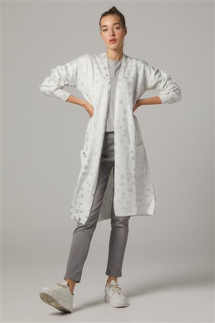 Cardigan-White 11026-02