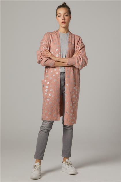 Cardigan-Pink 11026-42