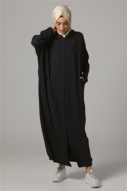 Abaya-Black 6865-01