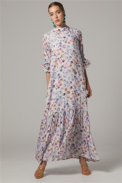 Elbise-Desenli 20Y1005-145