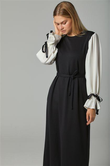 Elbise-Siyah UZ0015-12