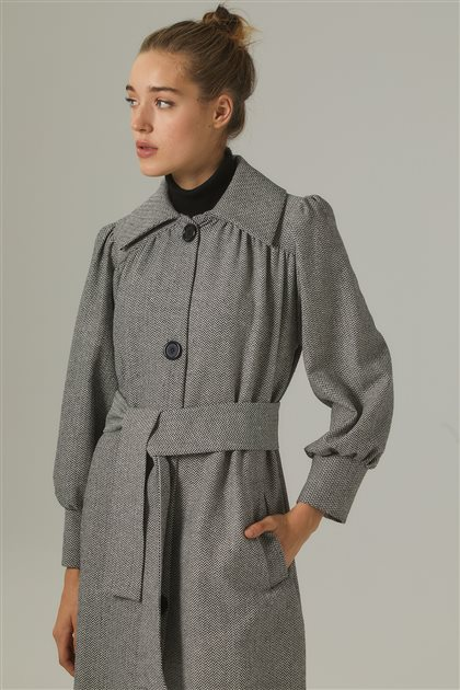 Coat-Gray SK1091-04