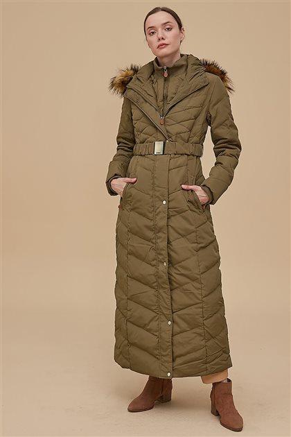 Coat-Khaki KA-A8-27004-21
