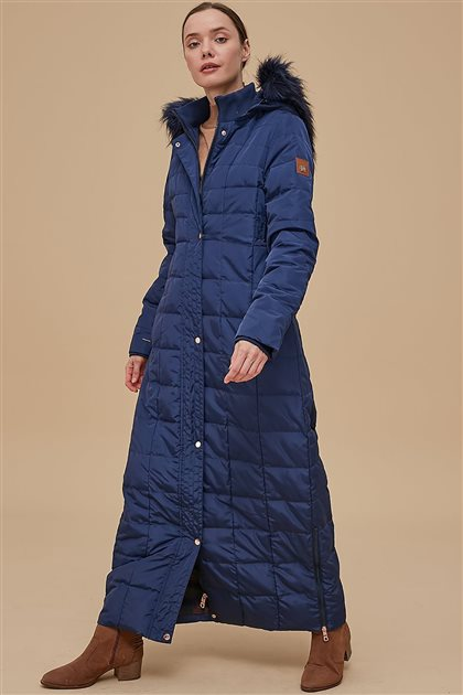 Coat-Navy Blue KA-A8-27001-11