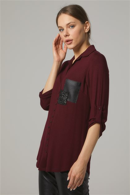 Shirt-Claret Red 1529-67