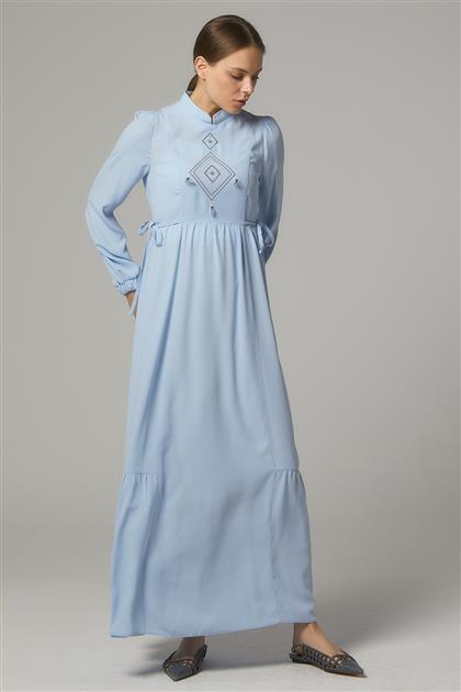 Elbise-Mavi DO-B20-63016-09
