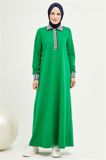 Elbise-Zümrüt Yeşili 201004-62