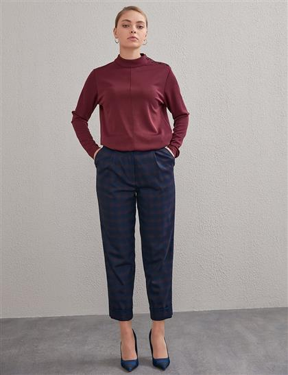 KYR Pants Navy Blue A20 79005