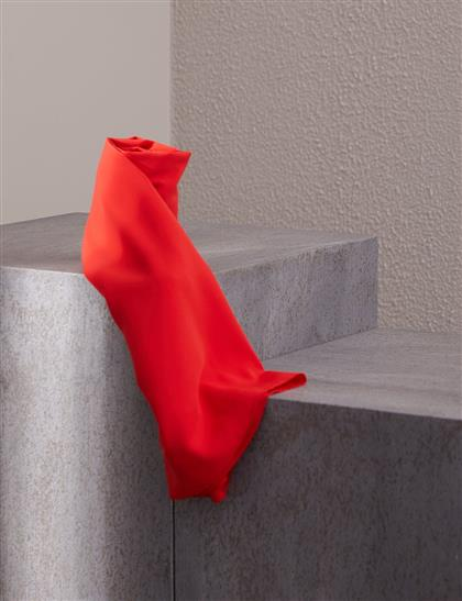Düz Renk Şal Kırmızı A20-SAL34-19