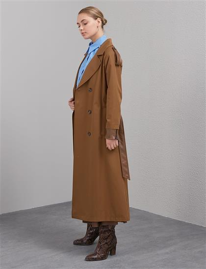 Trench Coat Brown A20 14007