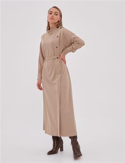 Elbise-Bej KA-A20-23107-08