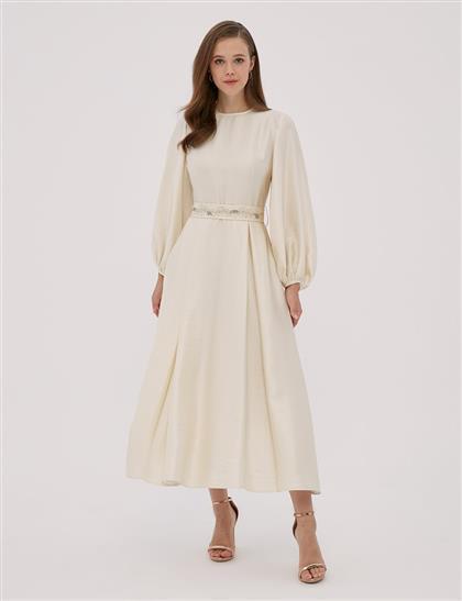 Dress Ecru A20 23029