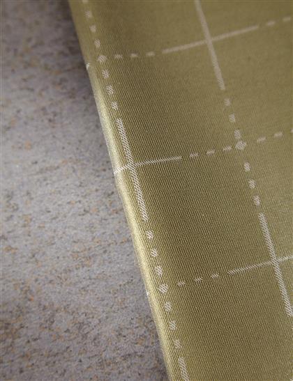 Çizgi Desenli İpek Şal | Yeşil B7 SAL05