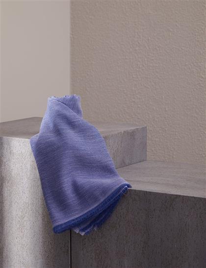 Düz Renk Şal Gri Mavi A20 SAL33