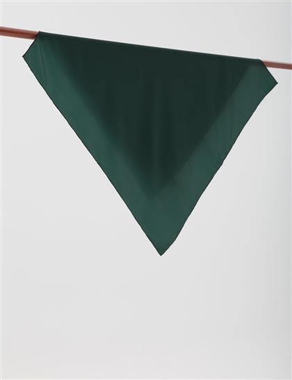 Twill Scarf SZ ESP77 Emerald Green