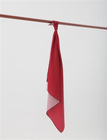 Twill Scarf Red SZ ESP77